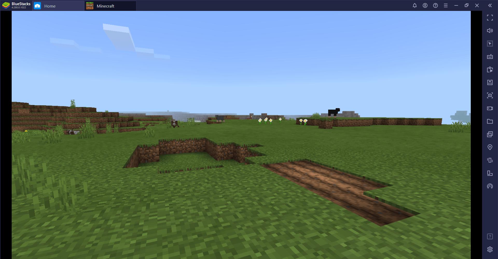 Comment jouer à Minecraft sur PC avec BlueStacks