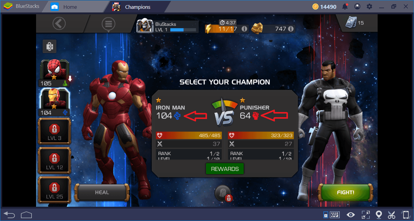 MARVEL Contest of Champions: Class and Champions Guide | BlueStacks 4