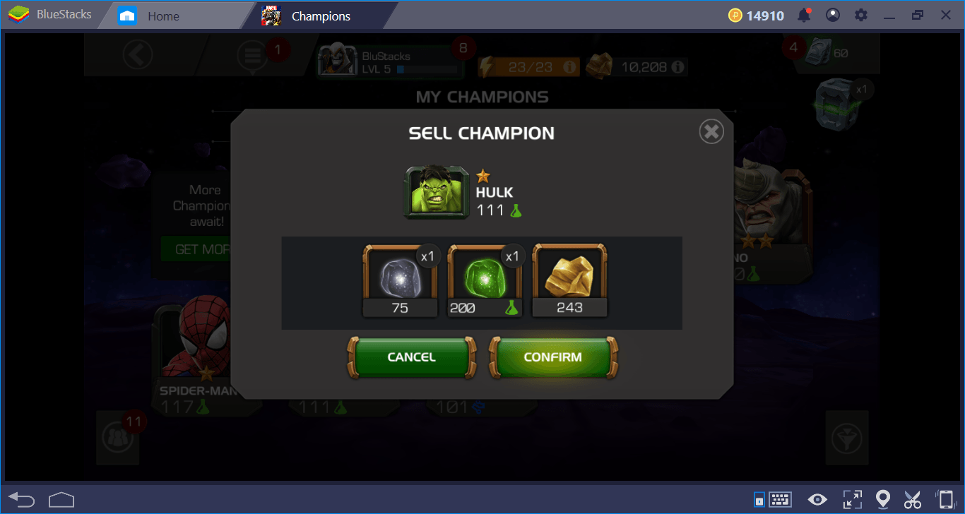 MARVEL Contest of Champions: How To Level and Upgrade Your