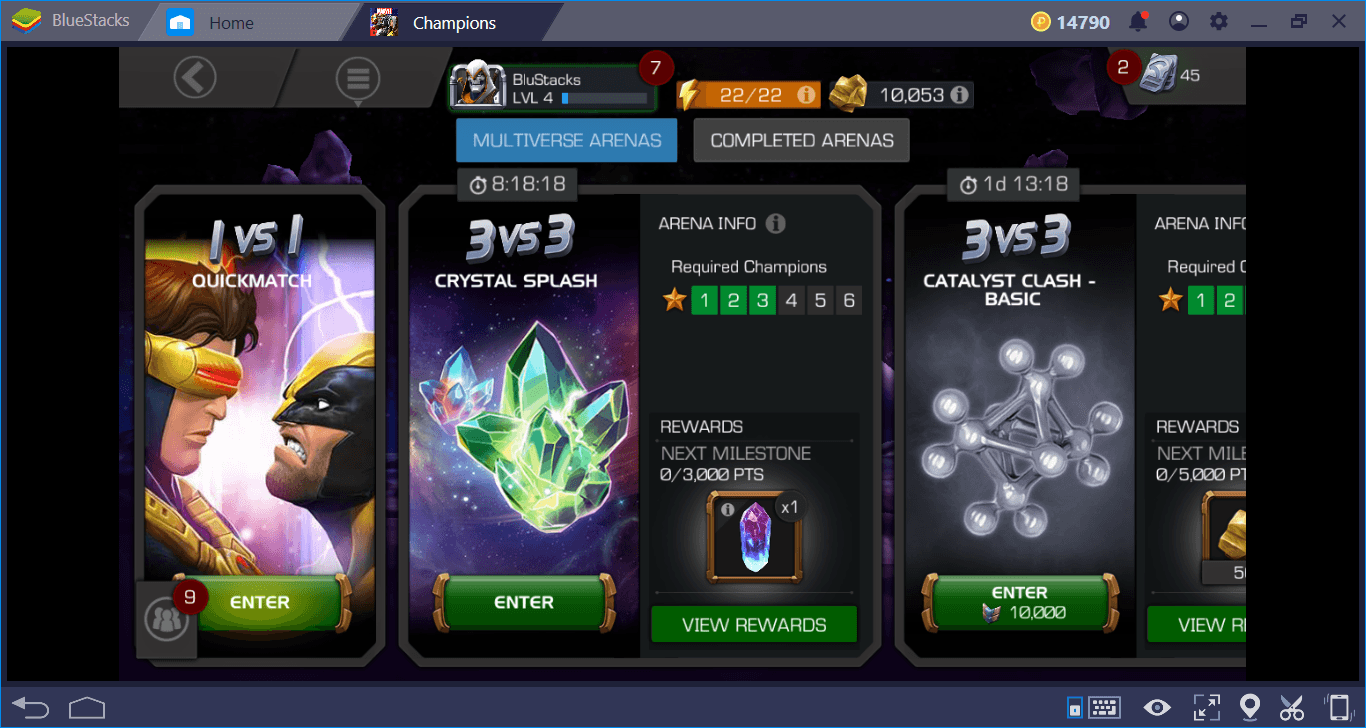 MARVEL Contest of Champions Pro Tips For Starters