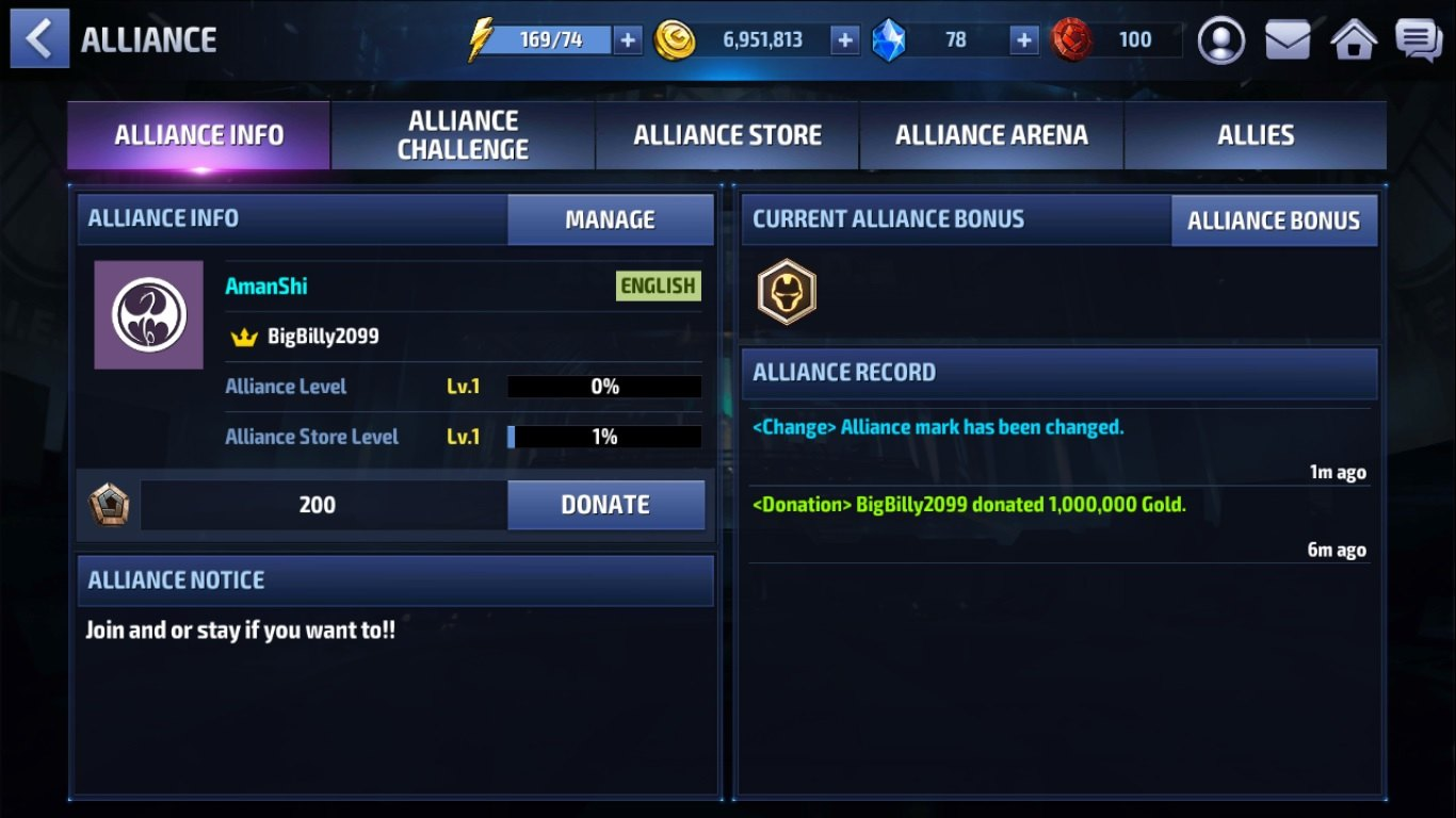 Marvel Future Fight Alliance