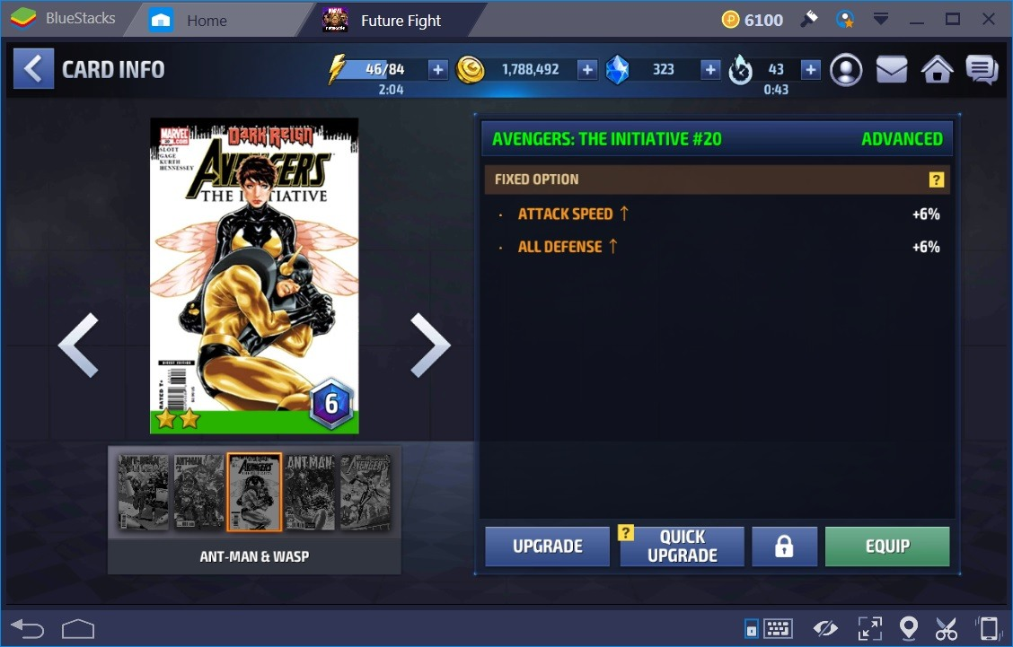 Marvel Future Fight Cards 2