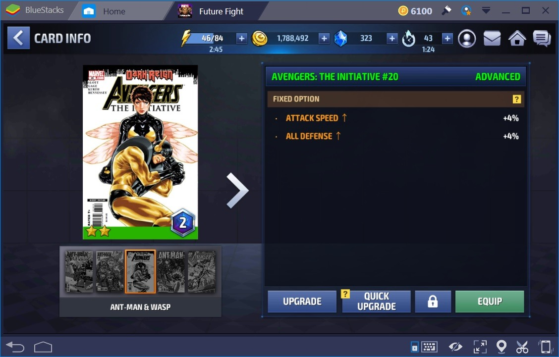 Marvel Future Fight Cards