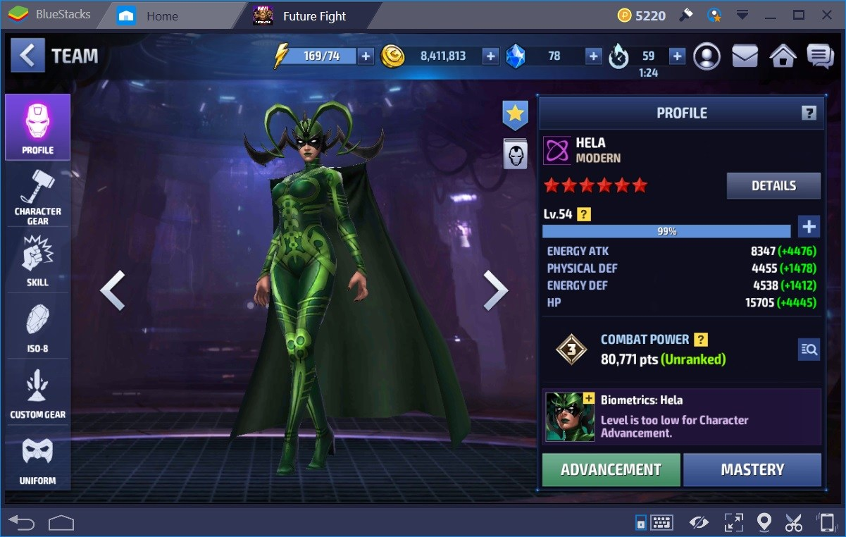 MArvel Future Fight Hela