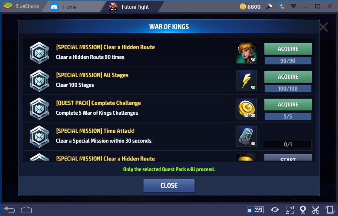 Marvel Future Fight Spcl Enrgy Quest Packs 2