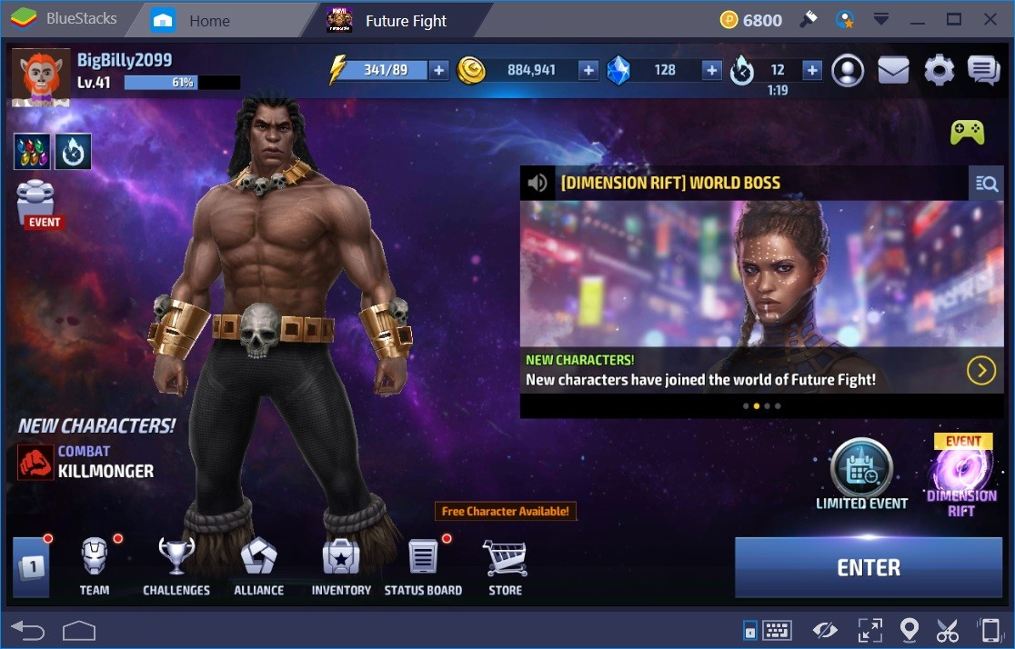 MARVEL Future Fight Energy Guide