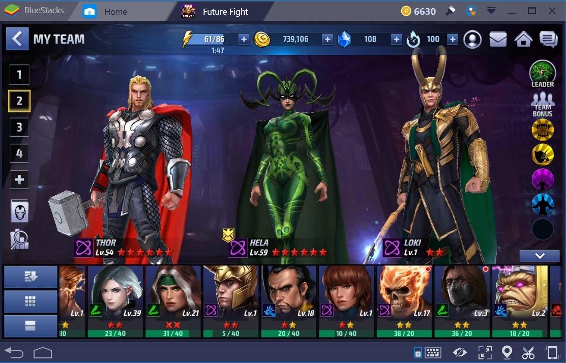 MFF Hela Thor Loki