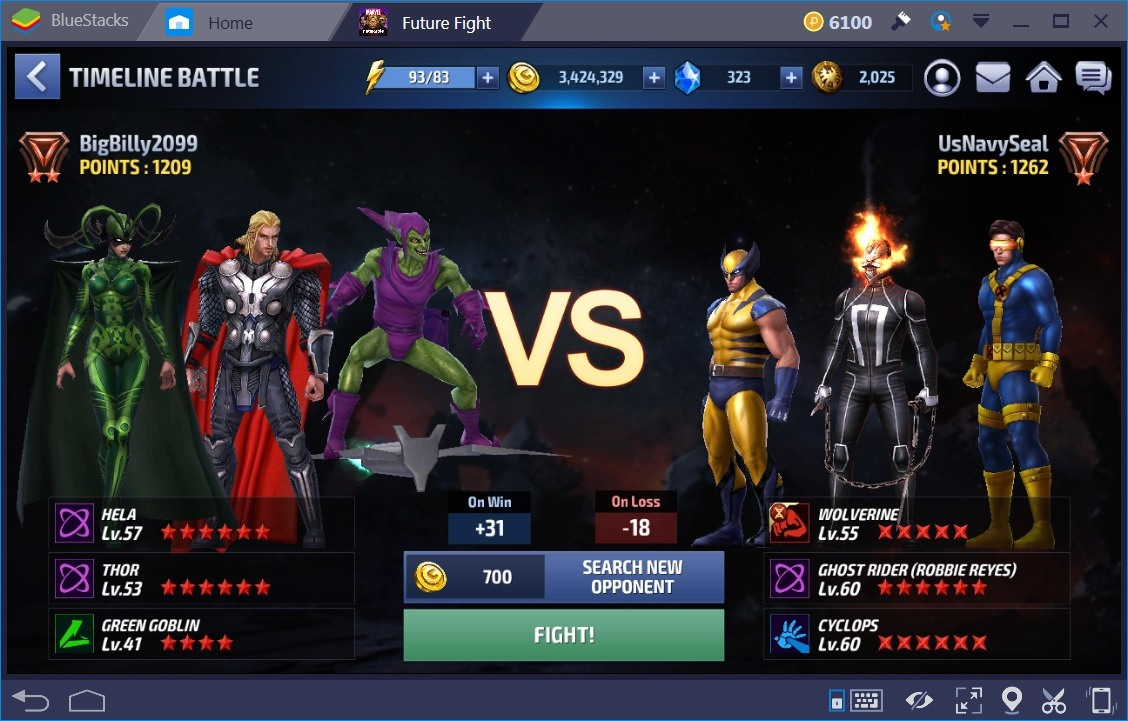 Marvel Future Fight Arena