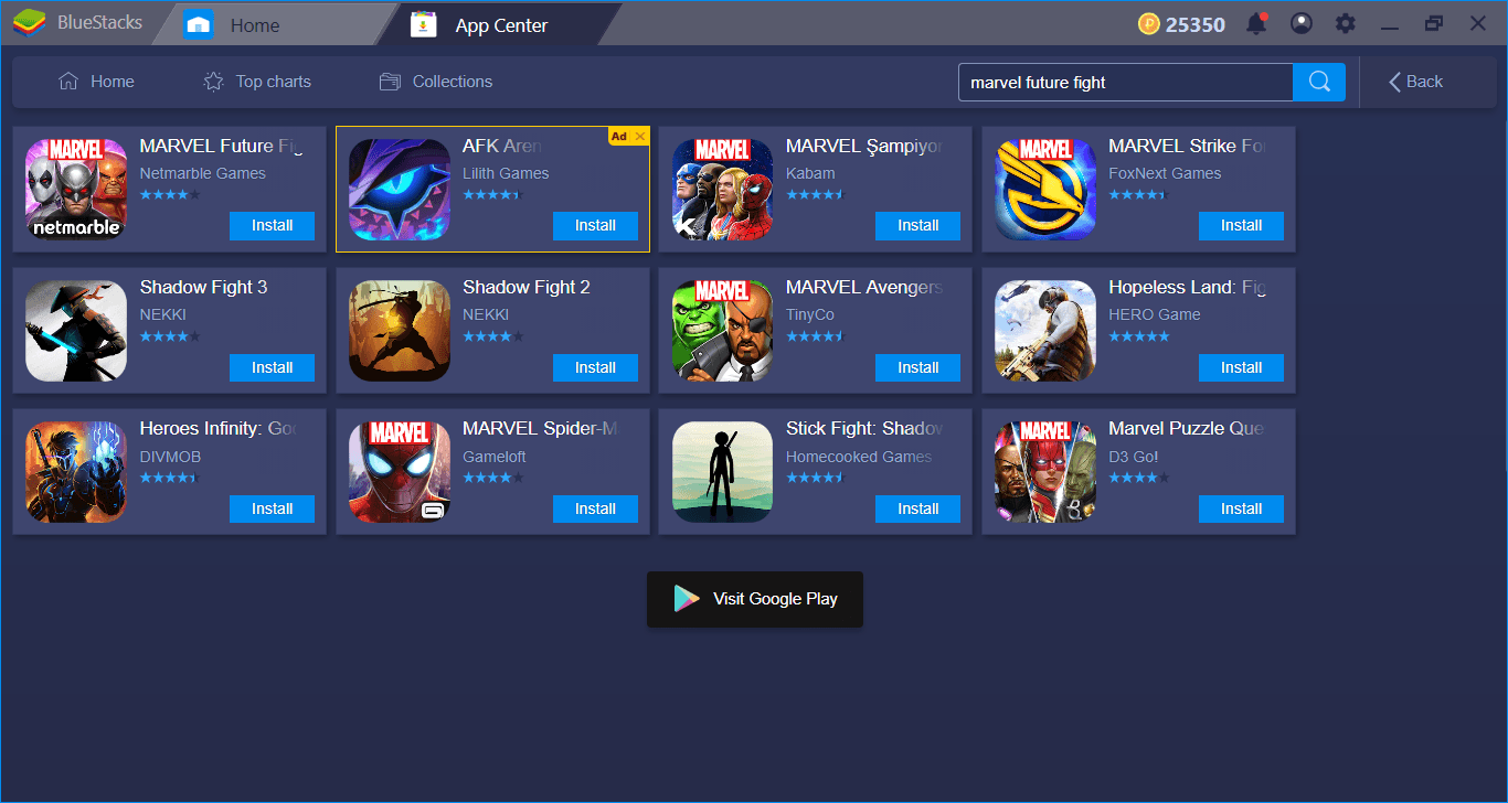 Fighting Against The Universe On BlueStacks: Marvel Future Fight Setup Guide