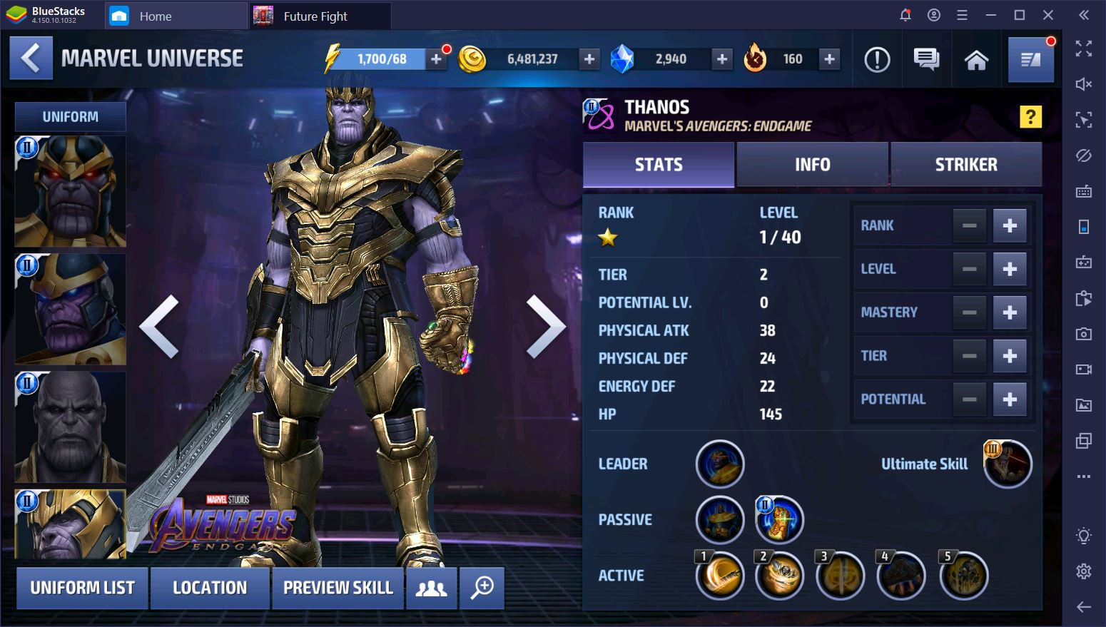 Marvel Future Fight on PC: Top 5 Characters Updated for 2020