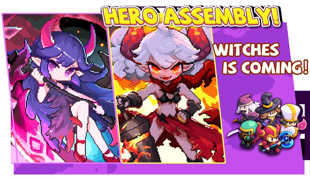 Pre-Register Sudah Dimulai untuk RPG baru bergaya Piksel, My Heroes: PejuangPiksel