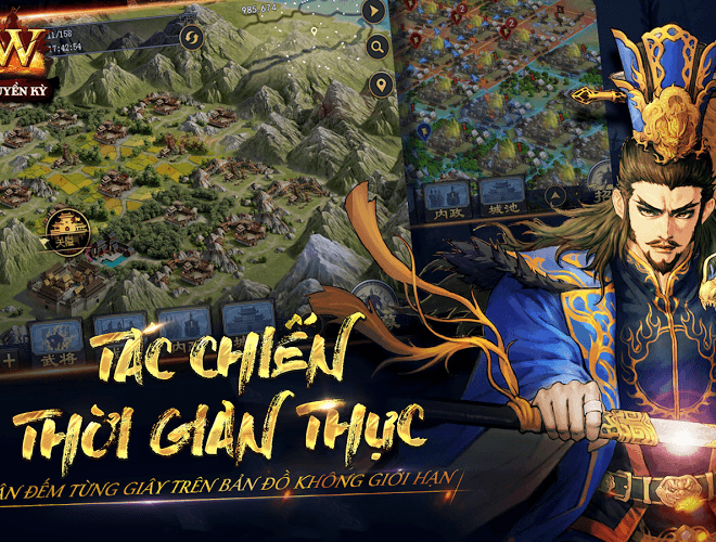 Chơi Row Tam Quốc Chí Truyền Kỳ VNG on PC 3