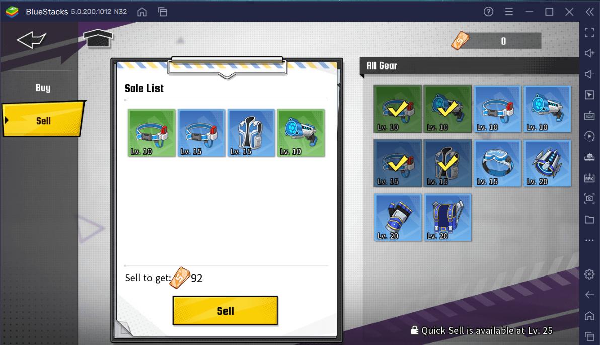 My Hero Academia: The Strongest Hero – Como Funciona o Sistema de Equipamento (Gears) e onde farmar
