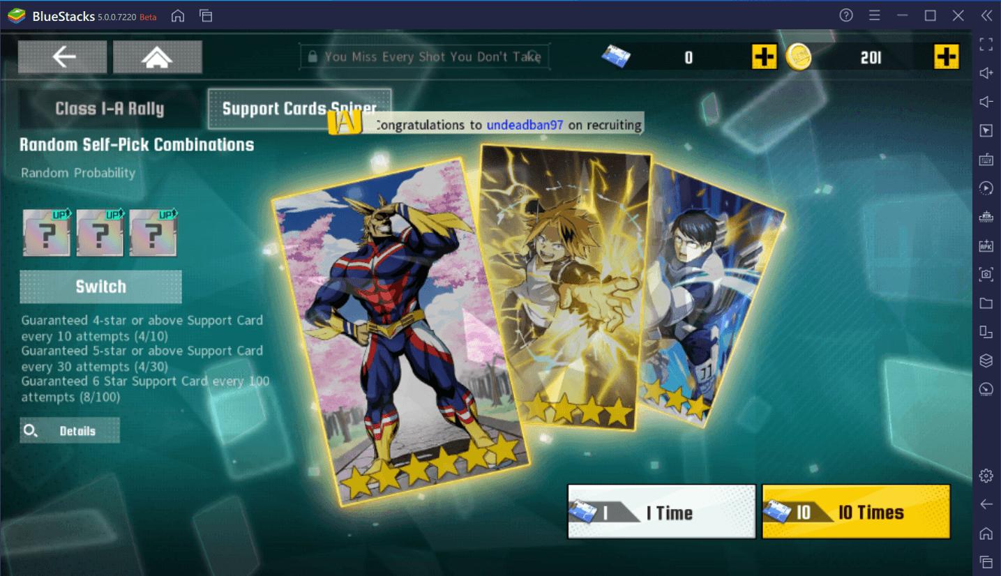 Wie du My Hero Academia: The Strongest Hero mit BlueStacks auf dem PC installierst