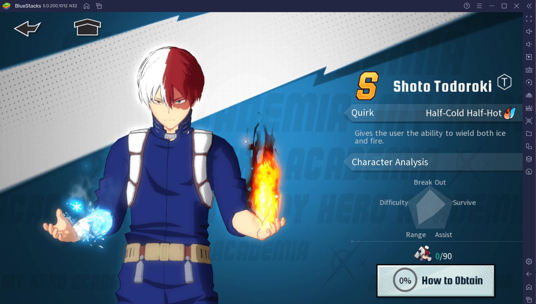 My Hero Academia: The Strongest Hero – Guia de Reroll