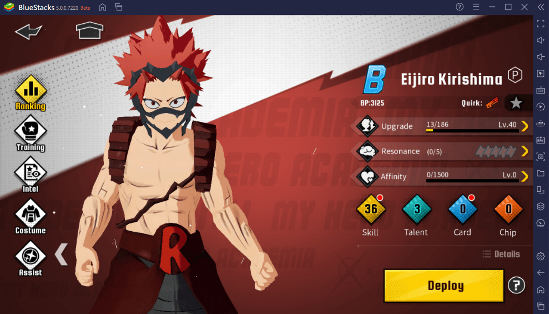 My Hero Academia: The Strongest Hero – La Tier List