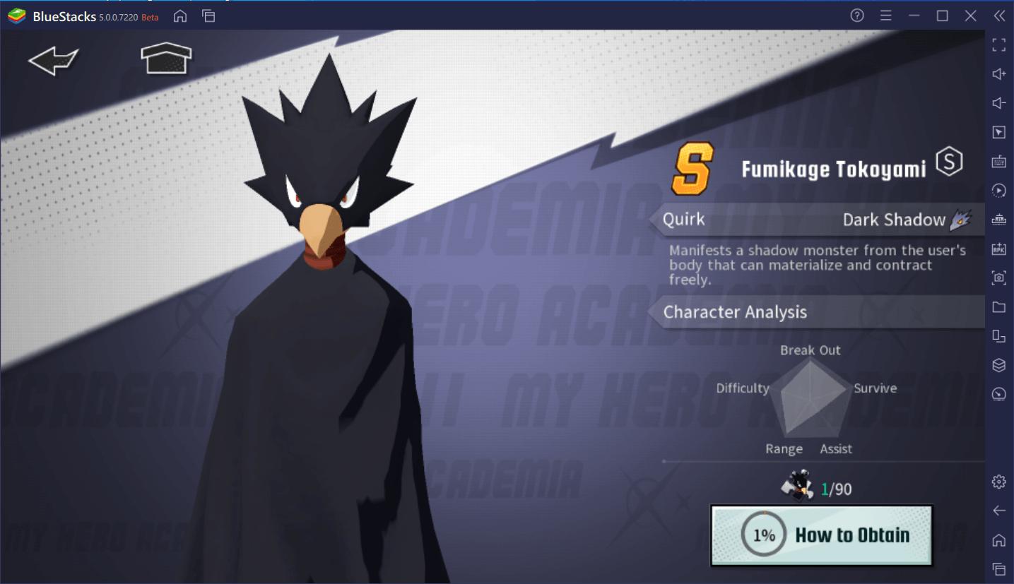 My Hero Academia : The Strongest Hero – Guide sur le reroll pour démarrer du bon pied