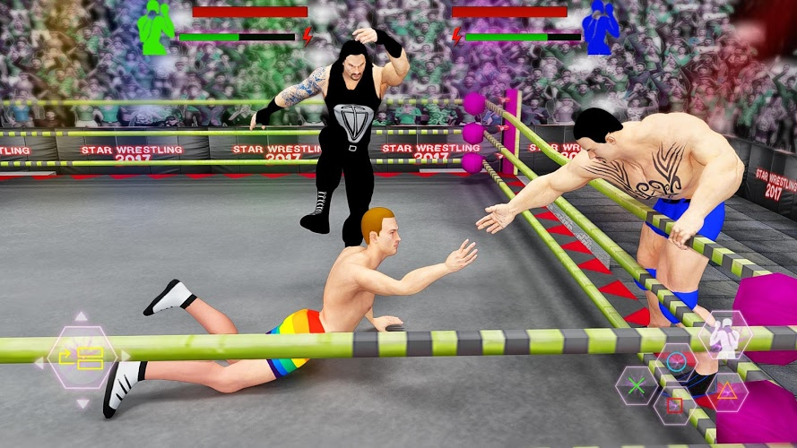 Play World Tag Team Stars Wrestling Revolution 2017 Pro on PC 3