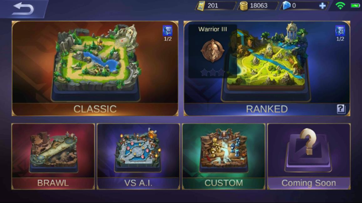 Mobile Legends Game Mode
