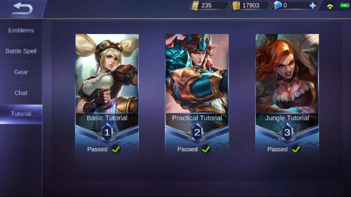 Mobile Legends Tutorial