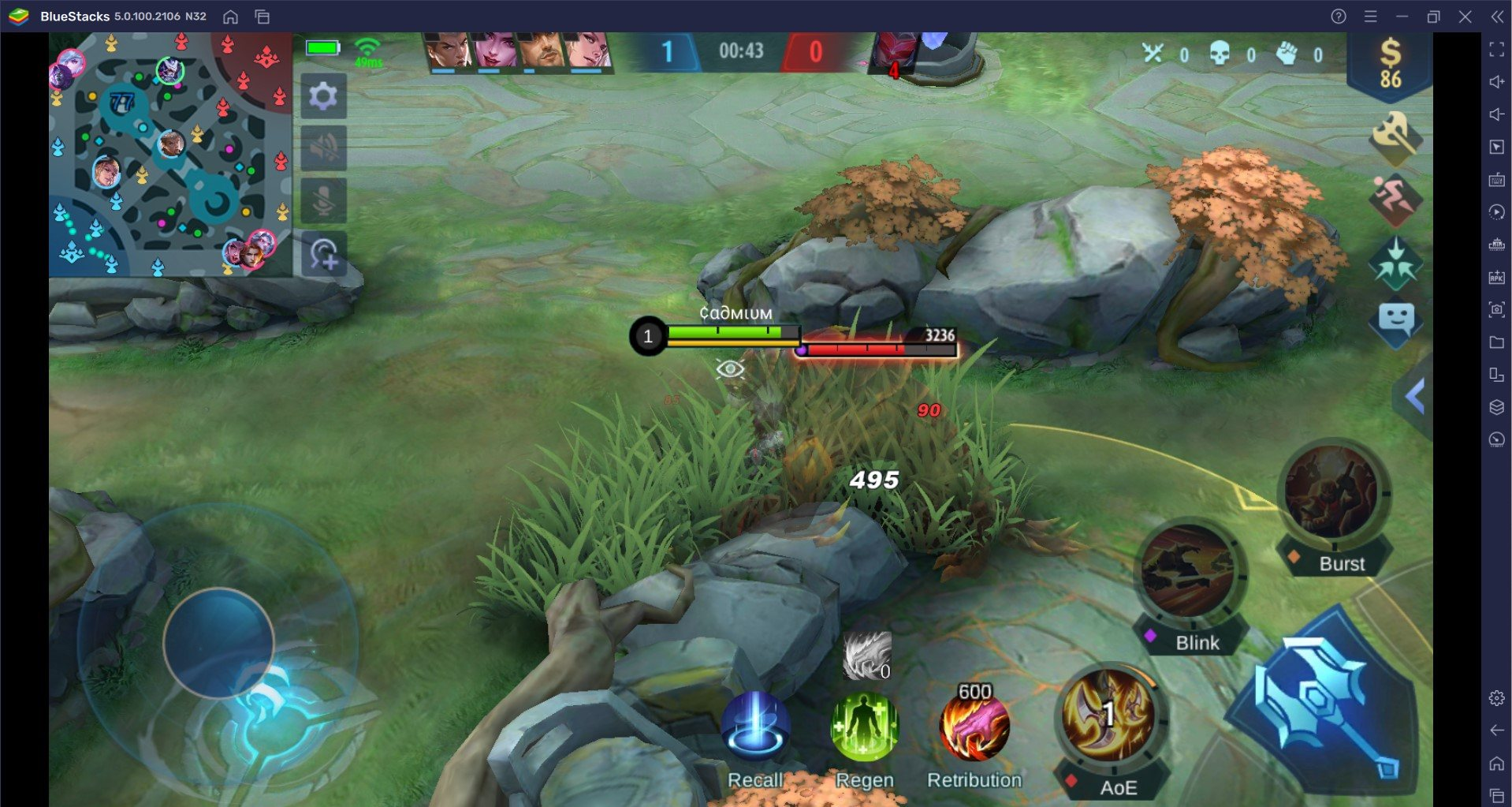 BlueStacks' Mobile Legends: Bang Bang Hero Guide for Hayabusa