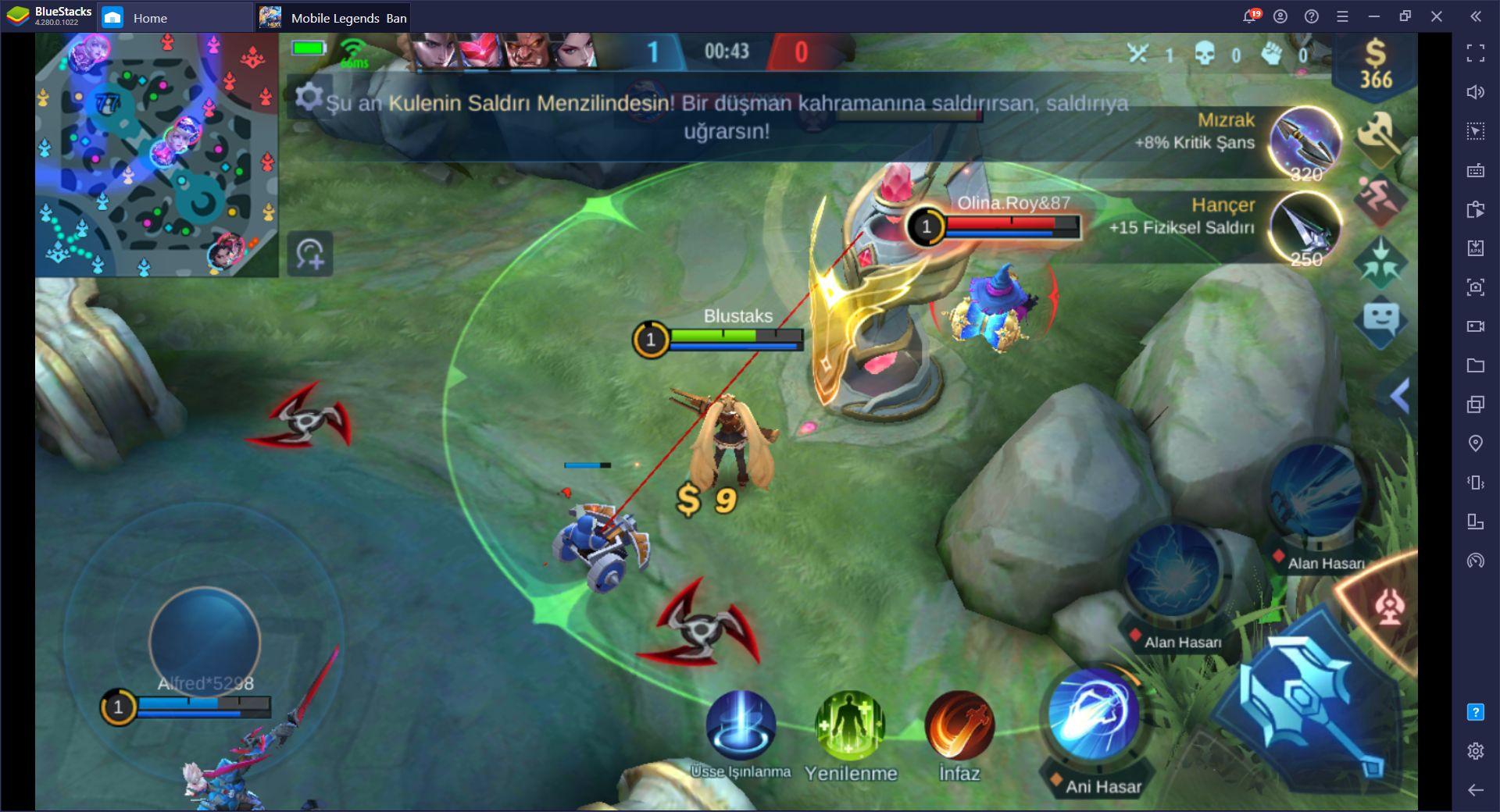 Mobile Legends Bang Bang Orta Koridor Taktikleri