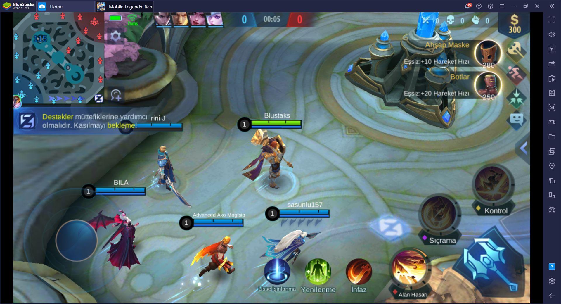 Mobile Legends Bang Bang Destek Rolü Rehberi