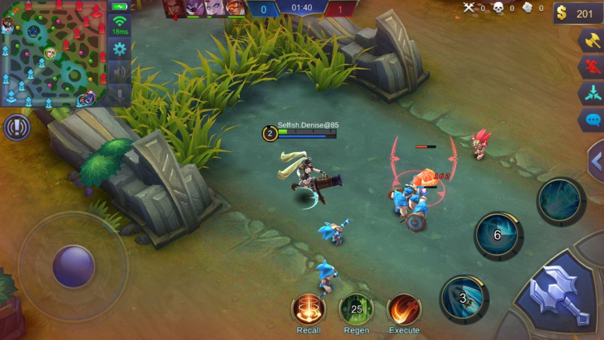 مزايا لعب Mobile Legends: Bang Bang على Bluestacks
