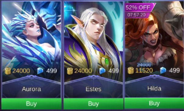 Mobile Legends: Bang Bang دليل شراء الأبطال