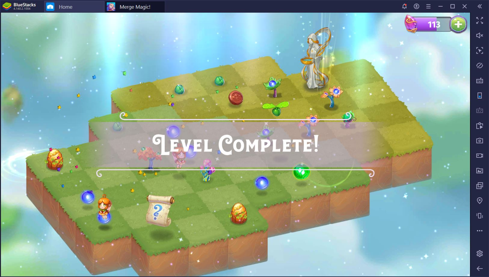How to Play Merge Magic! on PC with BlueStacks