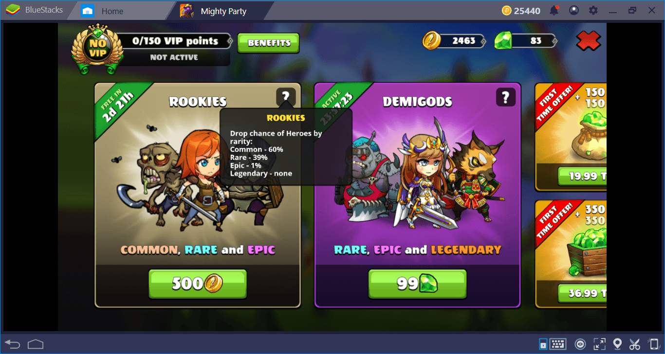 Gather A Mighty Squad And Crush Your Enemies: Let's Play Mighty Party On BlueStacks