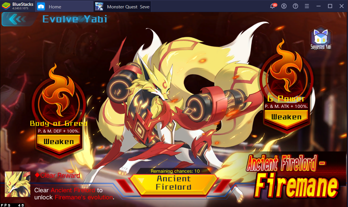 Upgrade Guide – How to Strengthen Your Yabi in Monster Quest: Seven Sins on PC