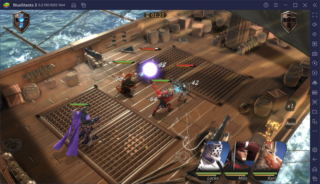 BlueStacks ile Magnum Quest Oyununu Bilgisayarda Oynayın