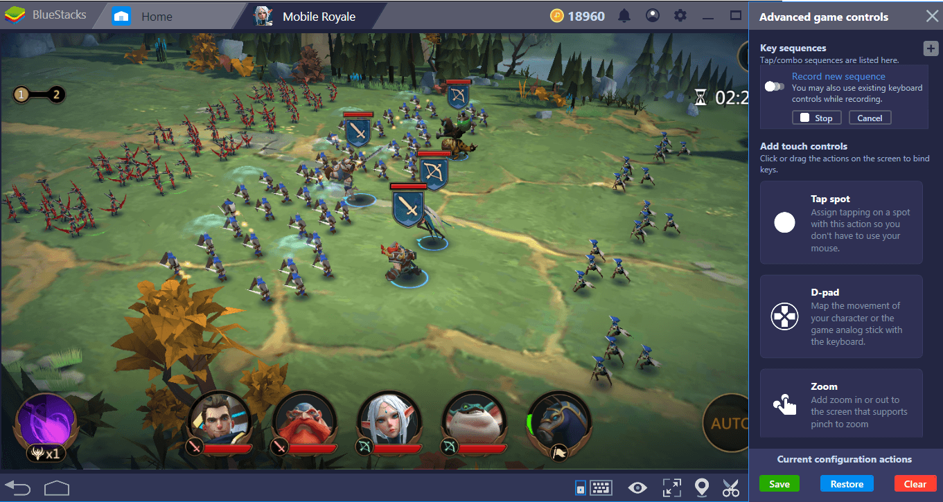 How To Setup and Configure Mobile Royale on BlueStacks
