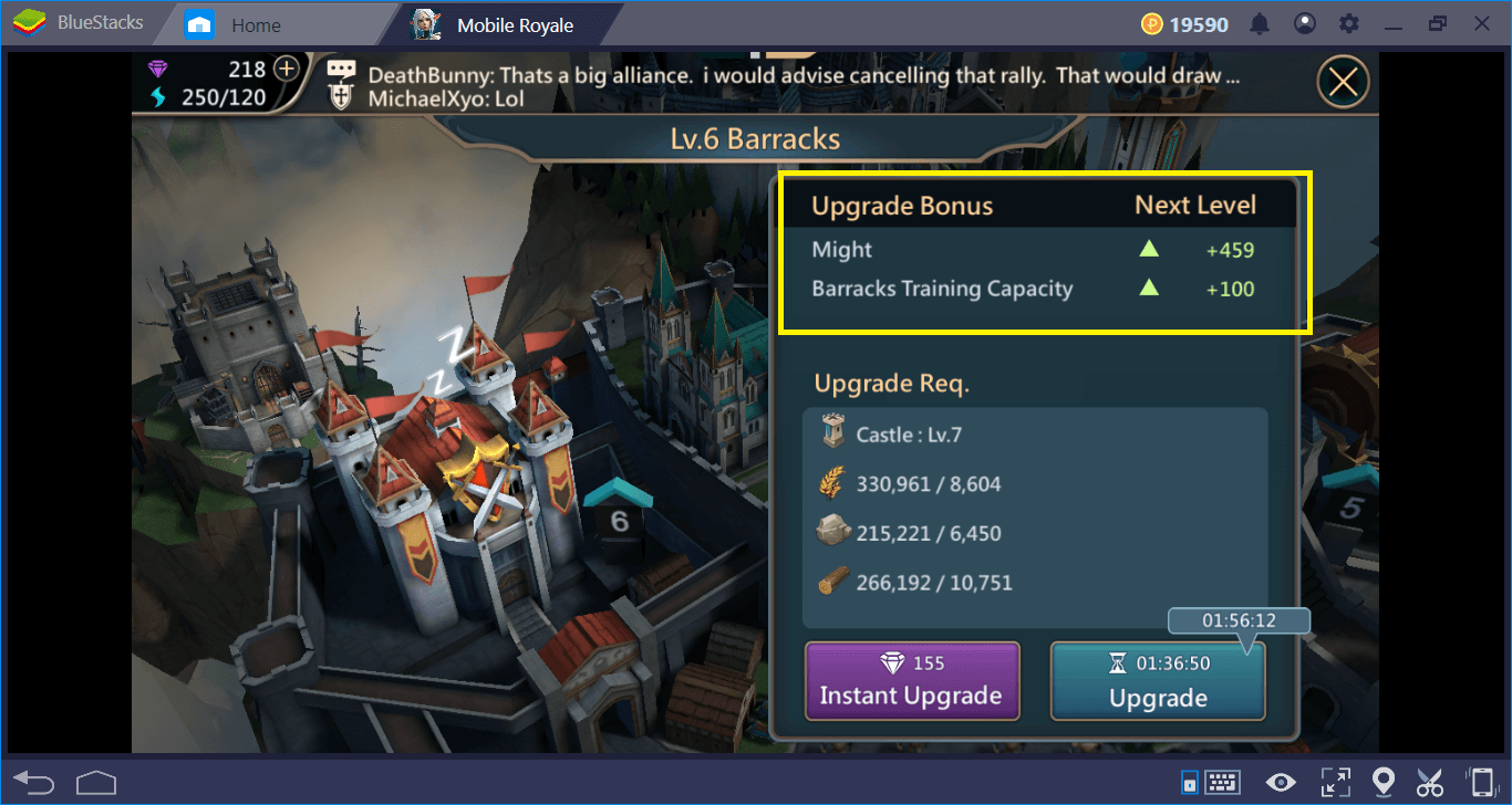 Mobile Royale Kingdom Guide: Lords and Buildings