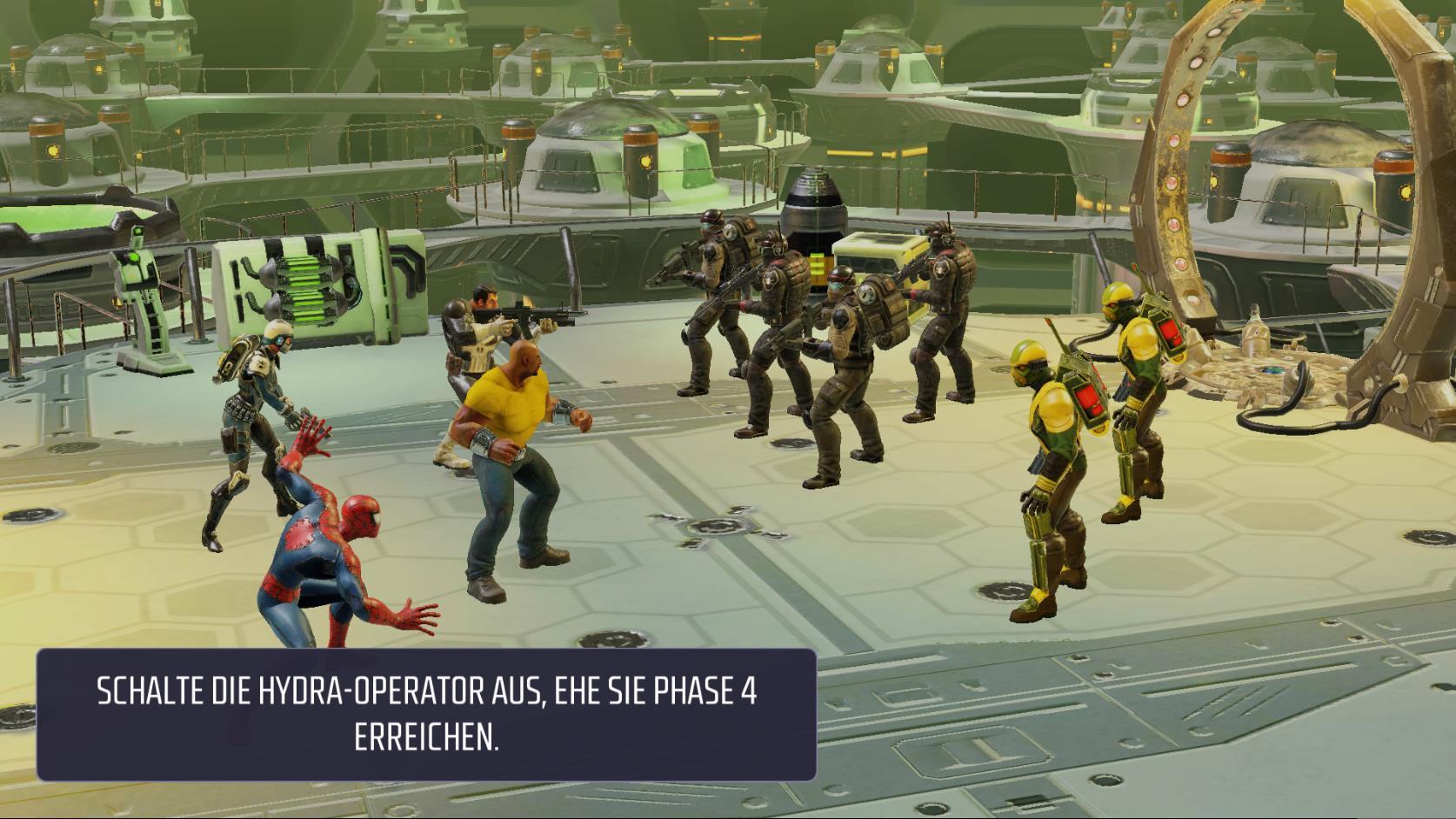 MARVEL Strike Force Kampf-System und Statuseffekte
