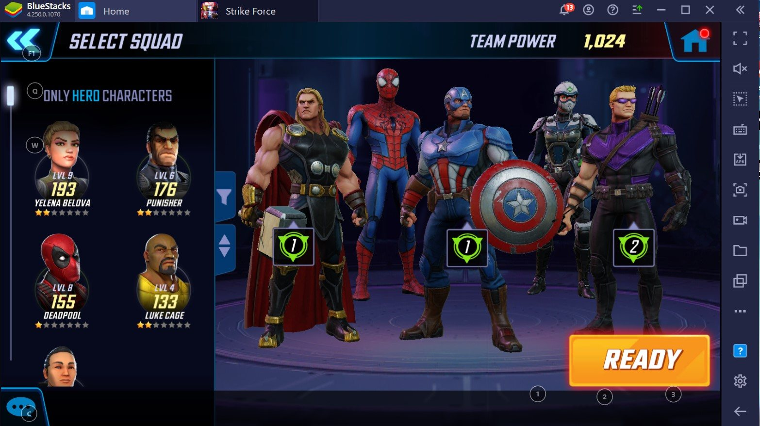 Warriors Assemble: BlueStacks Guide to War Teams in MARVEL Strike Force