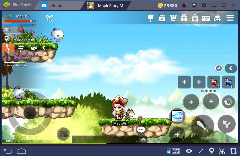 MapleStory M: Erlebe das schnellste Gameplay überhaupt dank der neuen Kombi-Taste