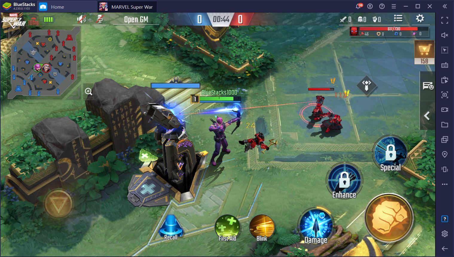 Marvel Super War – Trucs et astuces pour le laning et les combats