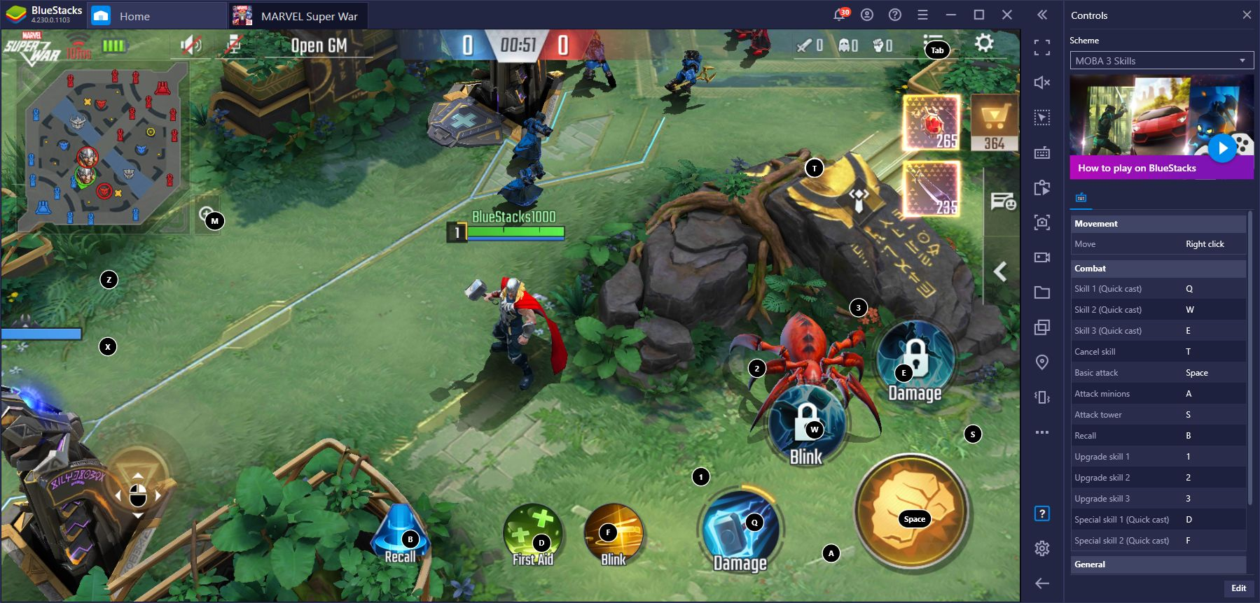 Marvel Super War – Comment jouer sur PC au MOBA de Marvel