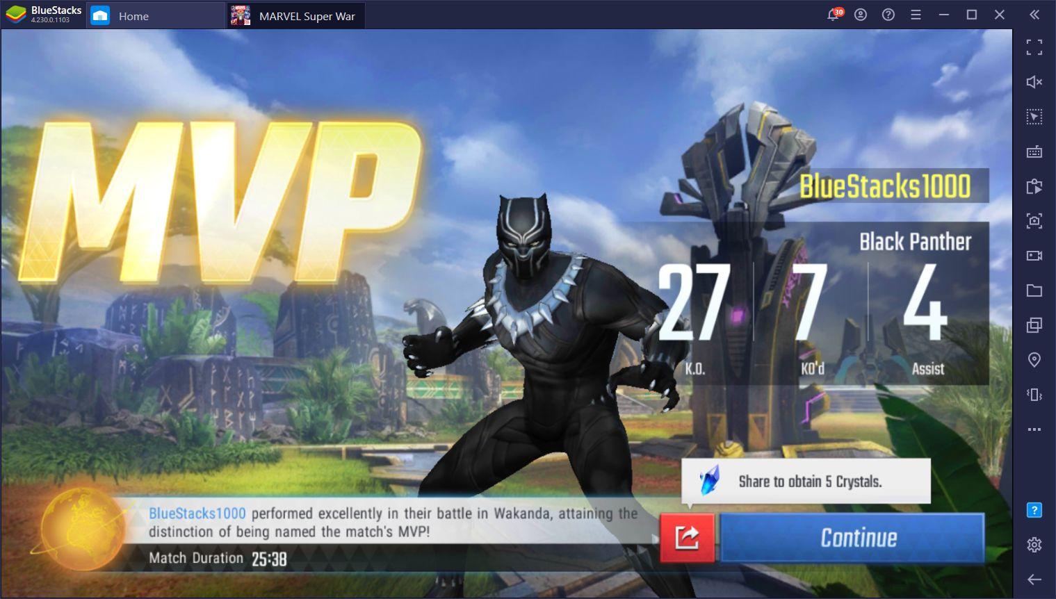 Marvel Super War – Comprendre les rôles des différents personnages