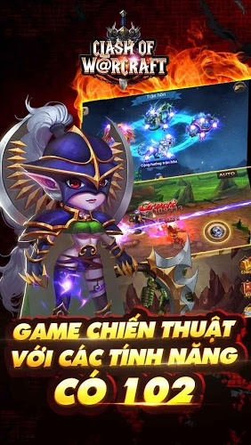 Chơi Clash Of Warcraft on PC 8