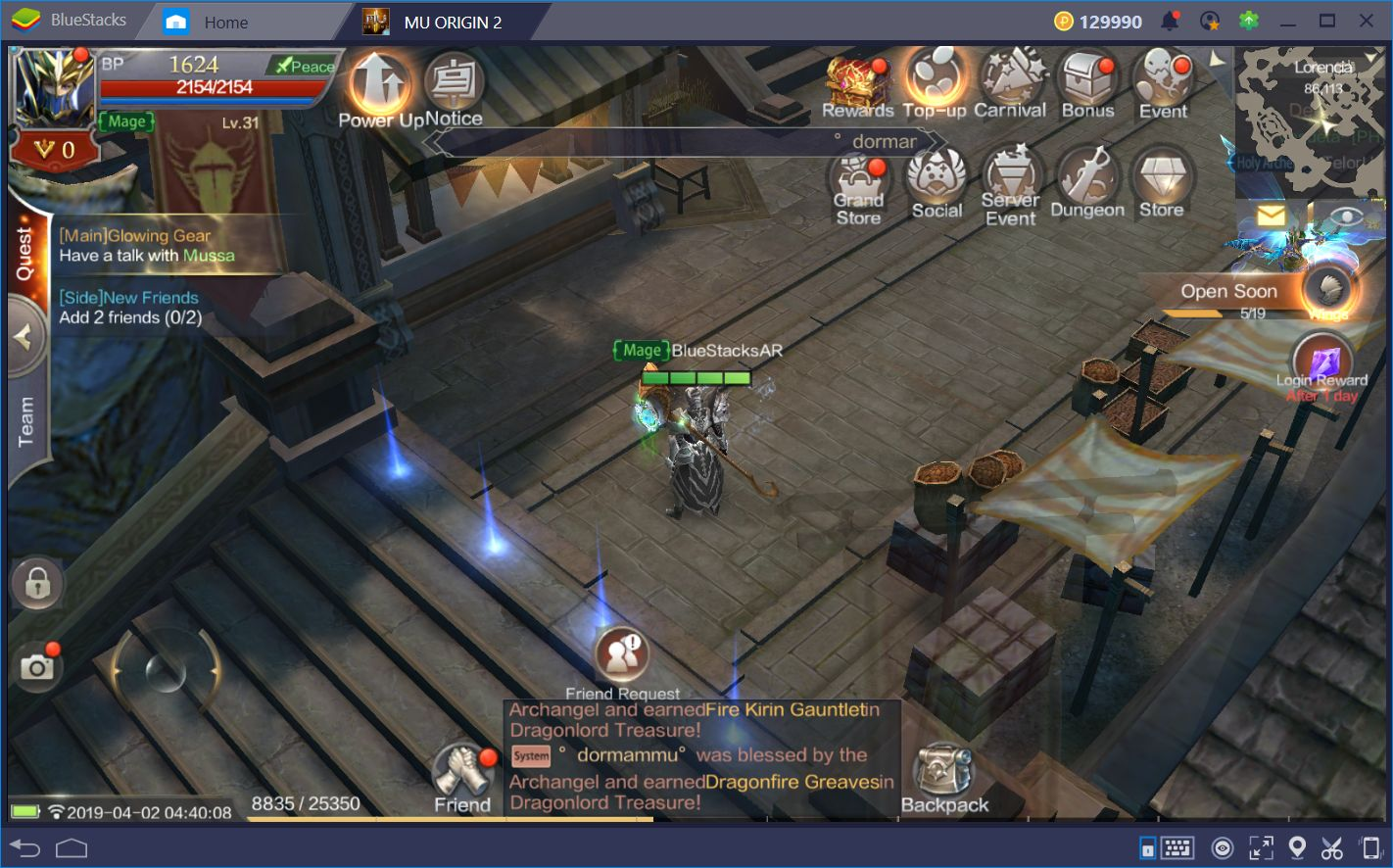 MU Origin 2—The Famous MMORPG Gets a New Look! | BlueStacks