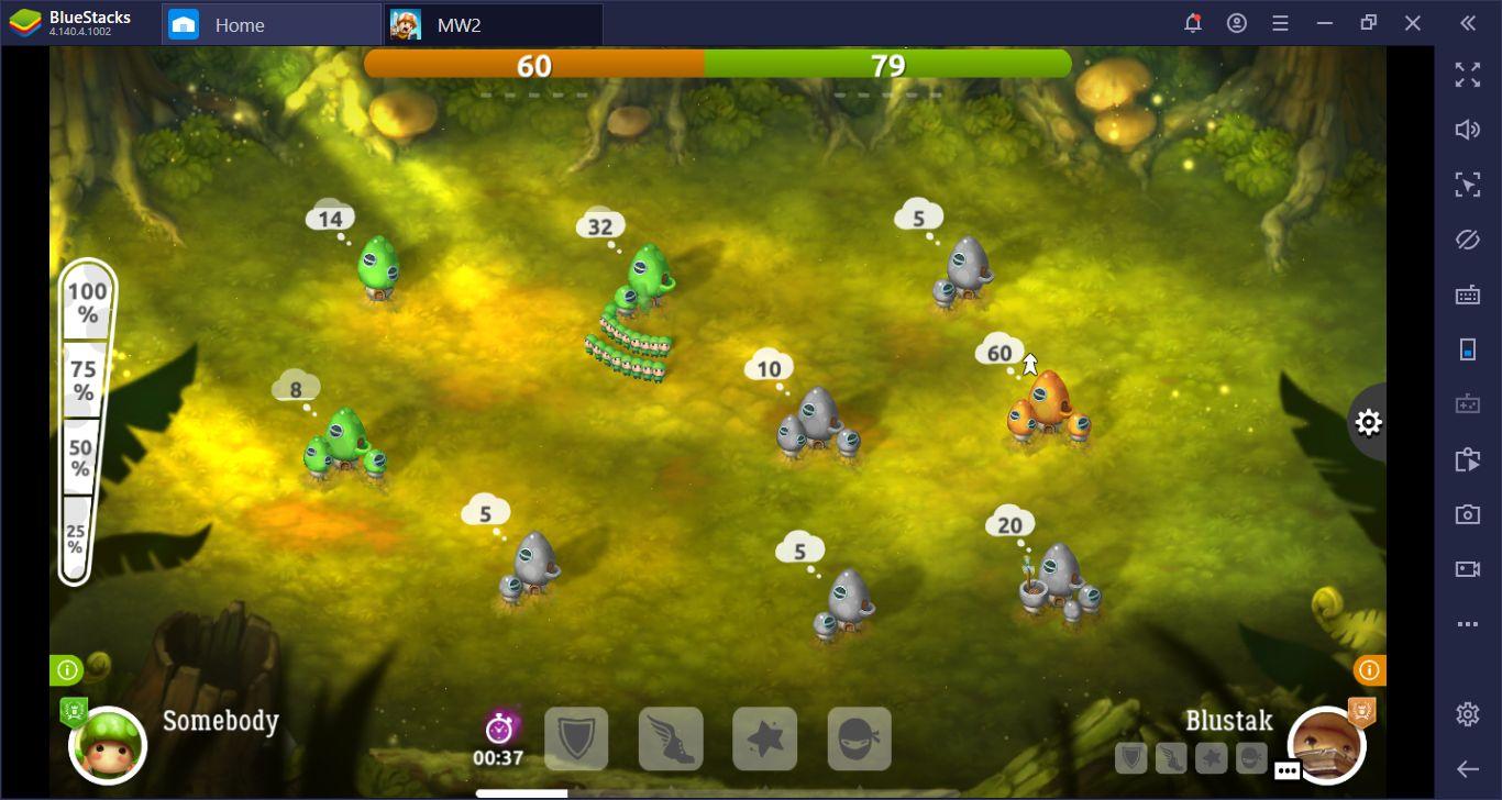 Mushroom Wars 2 on PC Tips And Tricks: Best Strategies For Beginners