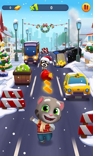 Играй Talking Tom Gold Run На ПК 2