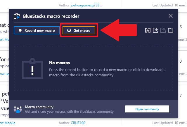 The BlueStacks Macro Community - The Place to Meet All Your Macro and Automation Needs!