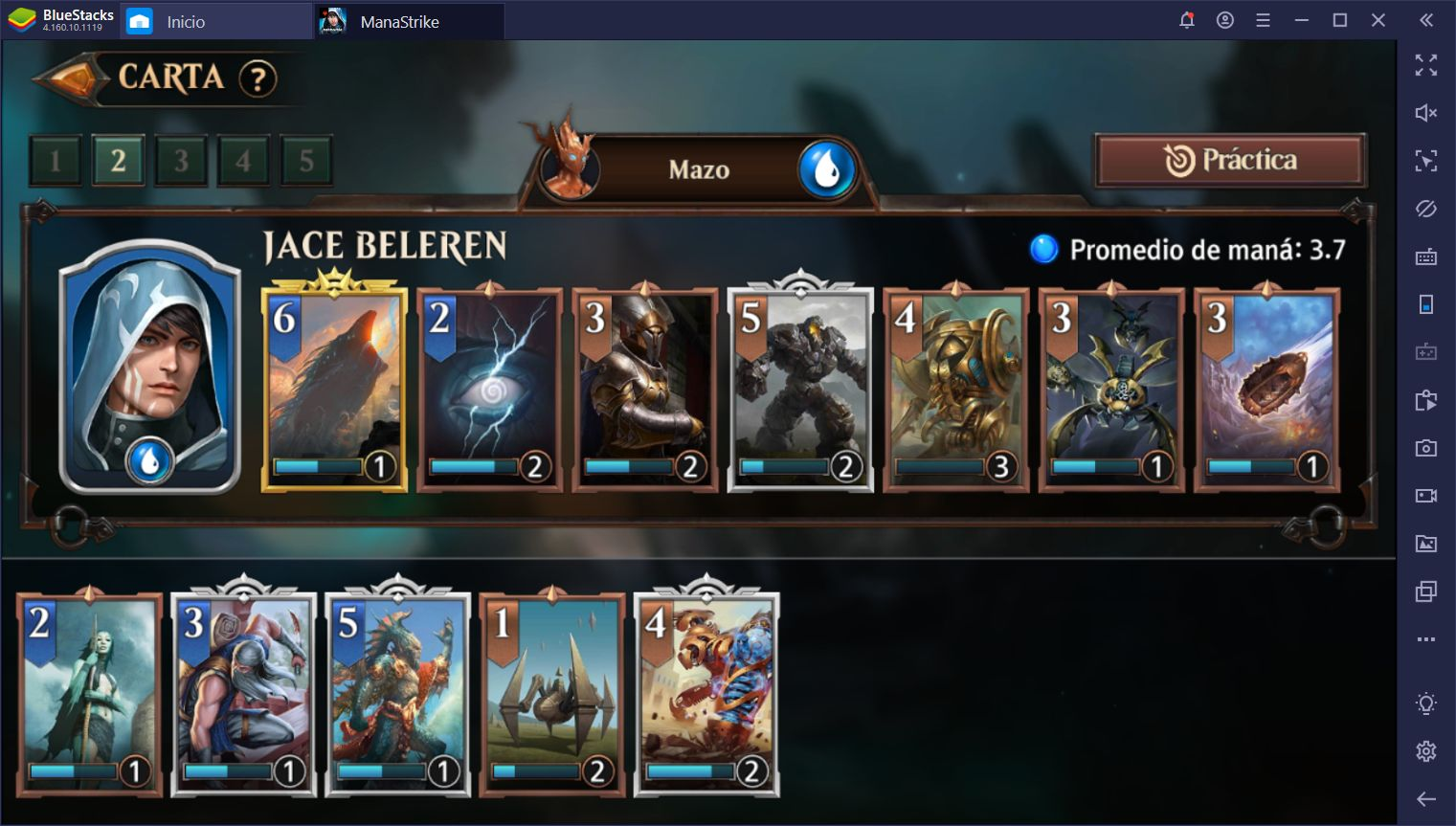 Cómo Usar BlueStacks Para Ganar en Magic: ManaStrike