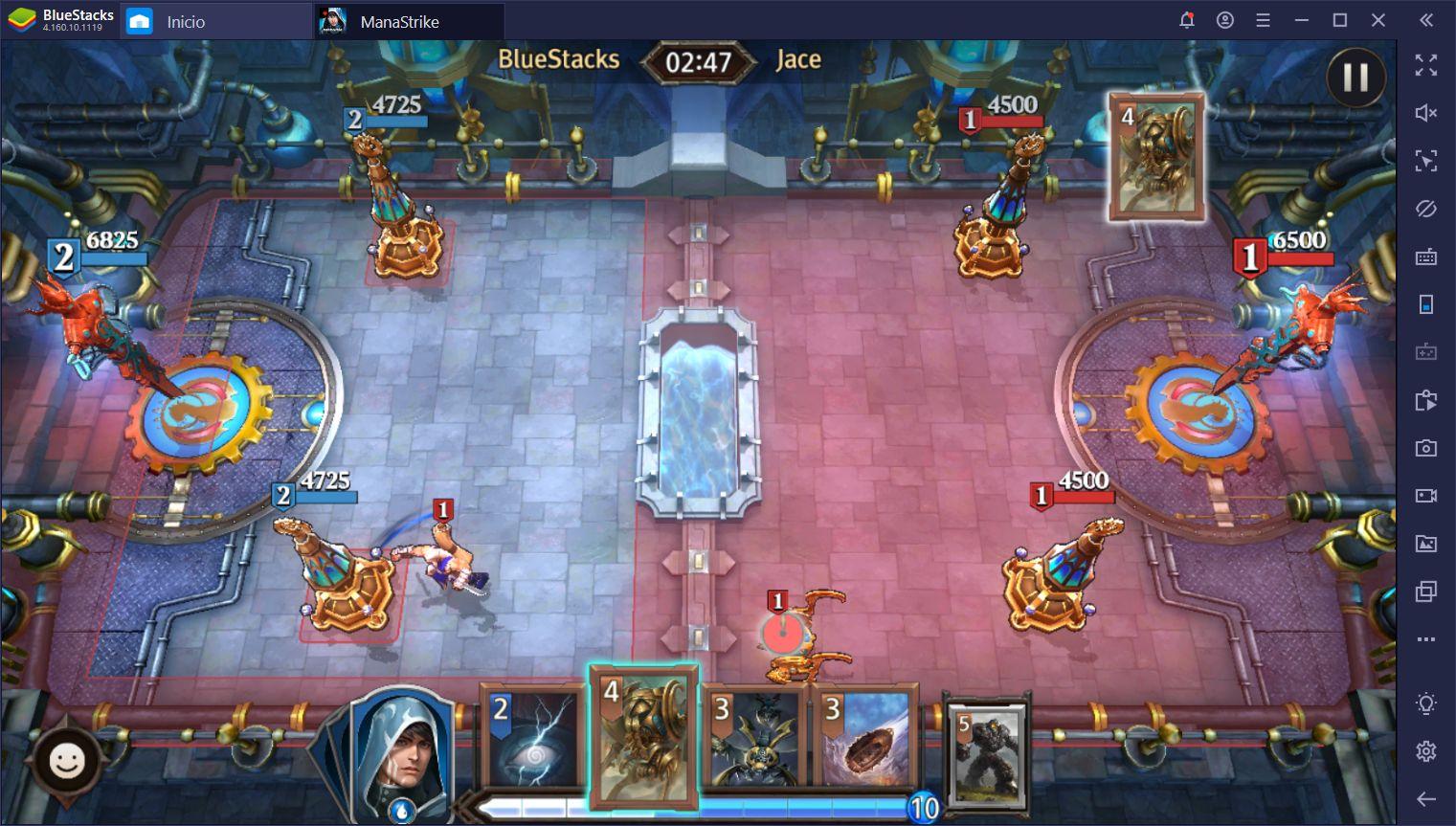 Cómo Usar BlueStacks Para Ganar en Magic: ManaStrike
