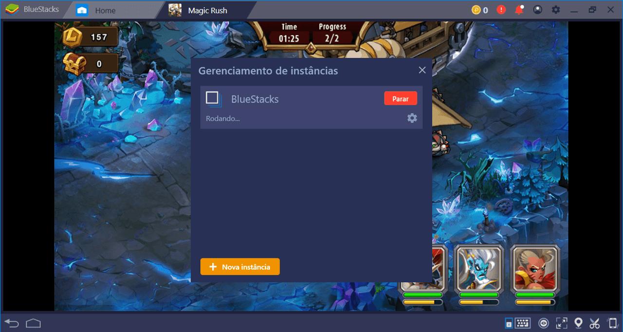 Como instalar e configurar Magic Rush Heroes com BlueStacks