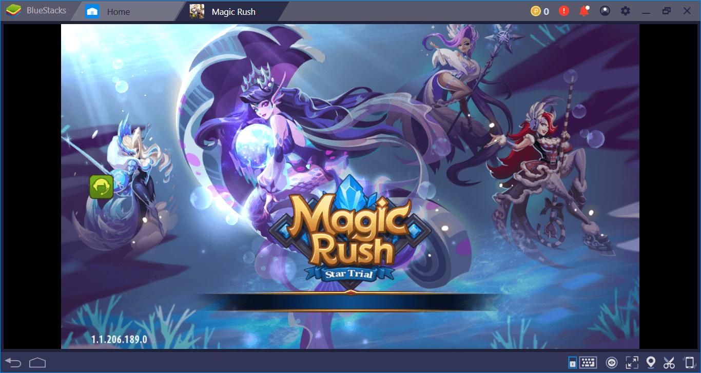 Montando o seu time de heróis em Magic Rush: Heroes.